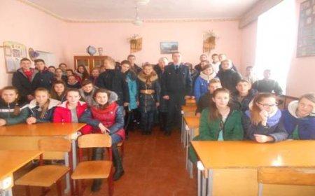 Зустріч  з працівником ДОП Дубровицького ВП Сарненського ВП ГУНП  в Рівненській області.