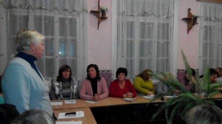 Засідання  батьківського комітету та шкільної ради