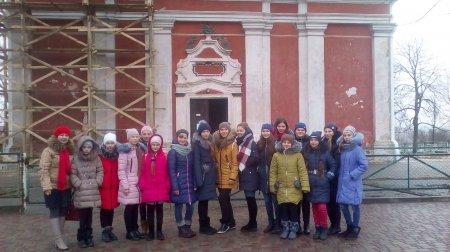 Екскурсія в костел Святого Івана Хрестителя  м.Дубровиця.