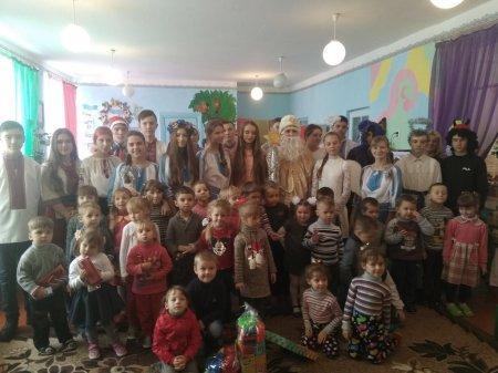 Святий Миколай в Колківському ЗДО
