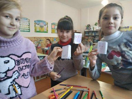 Заняття за інтересами дітей))) Виготовлення блокнотиків 🧾 ГПД 2-4 кл.