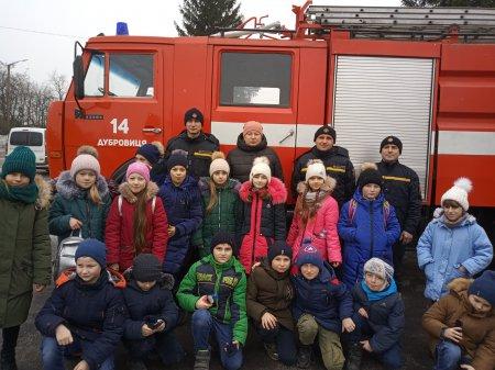 Екскурсія до ДПРЧ – 14 міста Дубровиця